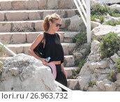 Купить «Heidi Klum and Vito Schnabel leaving the Hotel du cap eden roc by water taxi. Featuring: Heidi Klum Where: Cannes, France When: 17 May 2016 Credit: WENN.com», фото № 26963732, снято 17 мая 2016 г. (c) age Fotostock / Фотобанк Лори