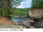 Купить «On an ancient volcano Girvas, Karelia», фото № 26983308, снято 6 августа 2017 г. (c) Валерий Смирнов / Фотобанк Лори