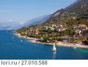 Купить «Озеро Гарда. Мальчезине. Италия», фото № 27010588, снято 5 сентября 2017 г. (c) Сергей Афанасьев / Фотобанк Лори