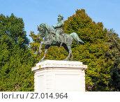 Купить «Памятник Витторио Эммануэле II. Верона. Италия.», фото № 27014964, снято 5 сентября 2017 г. (c) Сергей Афанасьев / Фотобанк Лори