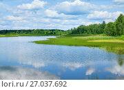 Купить «Летний пейзаж», фото № 27037692, снято 23 июля 2017 г. (c) Икан Леонид / Фотобанк Лори