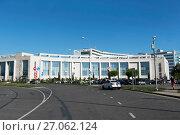 Купить «Конгресс центр гостинницы Radisson Blu Resort. Сочи (Адлер), Краснодарский край», эксклюзивное фото № 27062124, снято 4 сентября 2017 г. (c) Александр Щепин / Фотобанк Лори