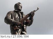 Памятник Калашникову на Садовом кольце в Москве, эксклюзивное фото № 27096184, снято 8 октября 2017 г. (c) Дмитрий Неумоин / Фотобанк Лори