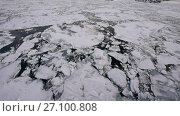 Купить «Travel In the ice , Arctic», видеоролик № 27100808, снято 26 сентября 2017 г. (c) Vladimir / Фотобанк Лори