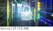 Купить «Composite image of composite image of padlock and malware detected», фото № 27113348, снято 23 марта 2019 г. (c) Wavebreak Media / Фотобанк Лори