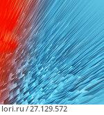 Купить «Abstract background techno graphics», иллюстрация № 27129572 (c) ElenArt / Фотобанк Лори
