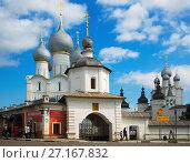 Купить «rostov kremlin edit», фото № 27167832, снято 27 августа 2016 г. (c) Яков Филимонов / Фотобанк Лори