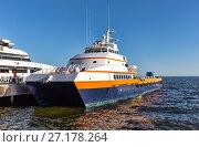 Купить «Sea trading port. Baku. The Republic of Azerbaijan», фото № 27178264, снято 22 сентября 2015 г. (c) Евгений Ткачёв / Фотобанк Лори