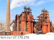 Купить «Демидовский нижнетагильский завод», фото № 27178276, снято 7 февраля 2015 г. (c) Евгений Ткачёв / Фотобанк Лори
