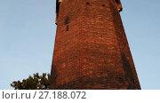 Купить «Jacek Tower - historic tower in Gdansk, Poland», видеоролик № 27188072, снято 20 октября 2015 г. (c) BestPhotoStudio / Фотобанк Лори