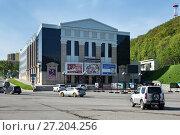Купить «Камчатский театр драмы и комедии», фото № 27204256, снято 16 июня 2017 г. (c) А. А. Пирагис / Фотобанк Лори