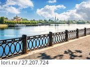 Классический вид Твери Classic view of  Tver (2017 год). Стоковое фото, фотограф Baturina Yuliya / Фотобанк Лори