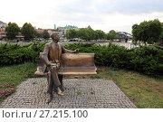 Купить «Памятник Рональду Рейгану. Город Тбилиси, Грузия», эксклюзивное фото № 27215100, снято 13 июля 2017 г. (c) Алексей Гусев / Фотобанк Лори