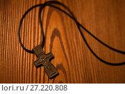 Купить «The Orthodox cross», фото № 27220808, снято 16 ноября 2017 г. (c) Типляшина Евгения / Фотобанк Лори
