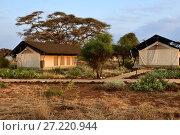 Купить «African travel, Sentrim Amboseli Tented Camp Luxury Lodge, Kenya», фото № 27220944, снято 23 августа 2010 г. (c) Знаменский Олег / Фотобанк Лори