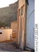 Купить «Trek in Jebel El Akhdar, Ash Shirayjah, Oman.», фото № 27222248, снято 1 января 2015 г. (c) age Fotostock / Фотобанк Лори