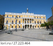 Купить «Town Hall. City of Badajoz. Extremadura. Spain.», фото № 27223464, снято 20 марта 2017 г. (c) age Fotostock / Фотобанк Лори