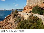 Купить «Cabo Roig and coastline of Dehesa de Campoamor. Costa Blanca. Spain», фото № 27224980, снято 5 ноября 2017 г. (c) Alexander Tihonovs / Фотобанк Лори