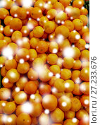 Купить «ripe mandarins at grocery store or market», фото № 27233676, снято 2 ноября 2016 г. (c) Syda Productions / Фотобанк Лори