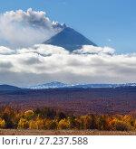 Купить «Камчатский осенний пейзаж», фото № 27237588, снято 2 октября 2016 г. (c) А. А. Пирагис / Фотобанк Лори