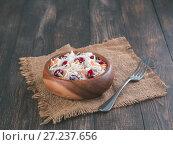 Купить «Sauerkraut with cranberry and carrot», фото № 27237656, снято 23 ноября 2017 г. (c) Ольга Сергеева / Фотобанк Лори