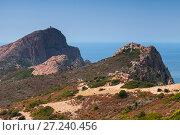 Купить «Mediterranean island Corsica. Corse-du-Sud», фото № 27240456, снято 5 июля 2015 г. (c) EugeneSergeev / Фотобанк Лори