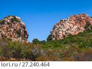 Купить «Corsica island, France. Landscape of Piana», фото № 27240464, снято 5 июля 2015 г. (c) EugeneSergeev / Фотобанк Лори