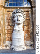 Купить «2nd century AD Roman statue of Apollo known as the Belvederre Apollo», фото № 27242560, снято 7 ноября 2017 г. (c) Евгений Ткачёв / Фотобанк Лори
