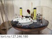 """Купить «Броненосец береговой обороны, поповка """"Новгород"""", построен в 1873 г., масштабная модель», эксклюзивное фото № 27246180, снято 29 ноября 2017 г. (c) Юлия Бабкина / Фотобанк Лори"""