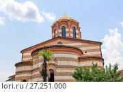 Купить «St. Nicholas Orthodox Church in Batumi. Republic of Georgia», фото № 27251000, снято 11 июля 2013 г. (c) Евгений Ткачёв / Фотобанк Лори