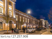 Купить «Малый театр на Театральной площади. Москва», эксклюзивное фото № 27257908, снято 25 ноября 2017 г. (c) Виктор Тараканов / Фотобанк Лори
