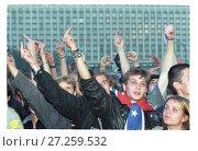 Молодежь протестует, 2010. Редакционное фото, фотограф Борис Кавашкин / Фотобанк Лори