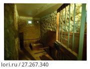 Купить «Тюремная камера Матросской тишины», фото № 27267340, снято 22 апреля 2019 г. (c) Борис Кавашкин / Фотобанк Лори
