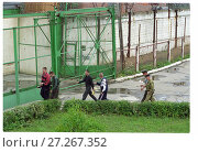 Купить «Внутри тюрьмы Матросская тишина», фото № 27267352, снято 25 июня 2019 г. (c) Борис Кавашкин / Фотобанк Лори