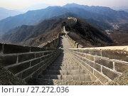 Купить «The Great Wall of China», фото № 27272036, снято 1 апреля 2017 г. (c) Яна Королёва / Фотобанк Лори