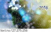 Купить «Lot of New Year's toys», видеоролик № 27275256, снято 9 декабря 2017 г. (c) Peredniankina / Фотобанк Лори