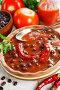 Купить «Soup with red bean and chili pepper», фото № 27279040, снято 11 ноября 2017 г. (c) Надежда Мишкова / Фотобанк Лори