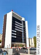 Купить «Здание Капитал банка в Баку. Республика Азербайджан», фото № 27282336, снято 27 сентября 2016 г. (c) Евгений Ткачёв / Фотобанк Лори