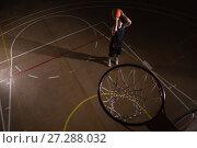 Купить «Player playing basketball», фото № 27288032, снято 21 октября 2017 г. (c) Wavebreak Media / Фотобанк Лори