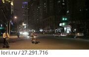 Купить «Chinese city of Shanghai», видеоролик № 27291716, снято 13 декабря 2017 г. (c) Балдина Алиса / Фотобанк Лори