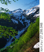 Купить «Сочи, Красная Поляна, гора Ачишхо в мае», фото № 27298048, снято 22 апреля 2019 г. (c) glokaya_kuzdra / Фотобанк Лори