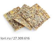 Купить «Печенье без сахара с подсолнечными семечками», фото № 27309616, снято 21 декабря 2017 г. (c) Александр Романов / Фотобанк Лори