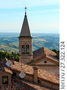 Купить «View from San Marino hills», фото № 27322124, снято 4 июня 2017 г. (c) Юрий Брыкайло / Фотобанк Лори