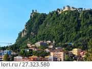 Купить «Republic of San Marino view», фото № 27323580, снято 4 июня 2017 г. (c) Юрий Брыкайло / Фотобанк Лори