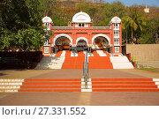 Купить «Entrance of Chatushrungi temple, Pune.», фото № 27331552, снято 16 апреля 2017 г. (c) age Fotostock / Фотобанк Лори