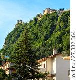 Купить «Republic of San Marino view», фото № 27332364, снято 4 июня 2017 г. (c) Юрий Брыкайло / Фотобанк Лори