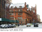 Купить «Teachers Collage, Columbia University on Broadway. Нью-Йорк, США», фото № 27333172, снято 16 декабря 2017 г. (c) Валерия Попова / Фотобанк Лори