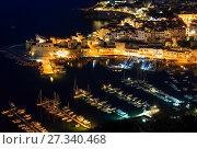 Купить «Castellammare del Golfo sea bay, Sicily, Italy», фото № 27340468, снято 15 июня 2017 г. (c) Юрий Брыкайло / Фотобанк Лори