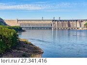 Красноярская ГЭС. Стоковое фото, фотограф Виктор Никитин / Фотобанк Лори