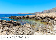 Cala di Punta Lunga coast, Macari, Sicily, Italy (2017 год). Стоковое фото, фотограф Юрий Брыкайло / Фотобанк Лори